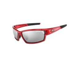 Camrock tifosi camrock metallic red with smoke ac red clear lenses